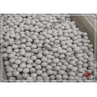 Quality 75% 92% 95% Alumina Grinding Ball Ceramic Balls For Ball Mill CE / ISO for sale