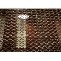 Quality ISO9001 Decorative Wire Mesh Stainless Steel Ring Mesh Screen For Decoration for sale