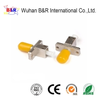 Quality Metal LC To ST Waterproof Fiber Optic Adapter for sale