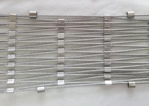 Quality 1.6mm 7 * 7 Stainless Steel Wire Rope Mesh For Protection Animal for sale