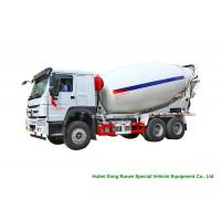 Quality Howo Concrete Mixer Truck For Cement Transportation 10cbm Right Hand Drive for sale