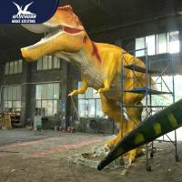 Buy cheap Waterproof Life Size Models Of Animals / Dinosaur Garden Ornaments from wholesalers
