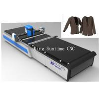 China 60m / Min Automatic Textile Cutting Machine With Air Flotation Auxiliary Divice on sale