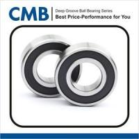 Quality 2PCS 6202-10-2RS ( 6202-5/8 2RS ) Rubber Sealed Ball Bearing 15.875 x 35 x 11 mm for sale