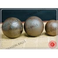 Quality 20mm - 150mm Cement Grinding Balls High Precision +-1mm / +-2mm Tolerance for sale