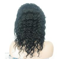 Quality offer European and American wigs Full lace real hair wigs Indian hair Deep Wave with high quality and good cheap for sale