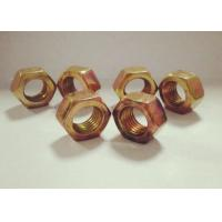 Quality M10 Carbon Steel Nuts Hexagon Head Galvanized Hot Dip For Wind Energy for sale