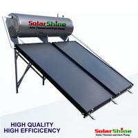 Quality Compact Type Flat Plate Solar Water Heater 0.6Mpa Residentail Household Usage for sale