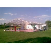 Quality Transprent Clear Wedding Tent , Clear Span Fabric Structures For Events for sale