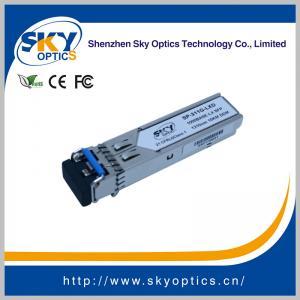 China 1.25Gbps SFP Optical Transceiver Single Mode SFP LX module 1310nm 20km Reach wholesale