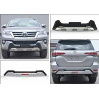 Quality TOYOTA New Fortuner 2016 2017 Accessory Front Bumper Guard and Rear Guard for sale