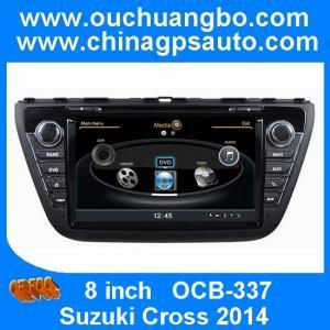 China Ouchuangbo Suzuki SX4 Cross 2014 S100 platform automobile GPS DVD transmitter fm MP3 player OCB-337 on sale
