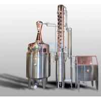 China 200L 500L 1000L Red Copper Alcohol Vodka Pot Still Distiller on sale