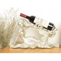 Quality best selling Mermaid Shaped Beauty Series Wine Rack For Display for sale