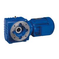 Quality K157/R97 Ratio 3051/2610/434 cng reducer mini electric motor gear reducer for sale