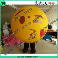 Quality Lovely Inflatable Kiss Ball Valentine's Day Inflatable Costume Parade Inflatable Cartoon for sale