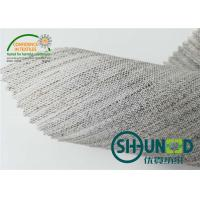 Quality Jacket Woven Fusible Interlining 112 / 150 / 160cm Width Natural Color for sale