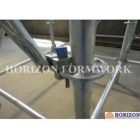 Flexible Ringlock Scaffolding System , Wedge Lock Scaffolding High Stability