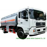 Quality Large Capacity Oil Tanker Truck , Fuel Delivery Tankers With DFA Chassis for sale