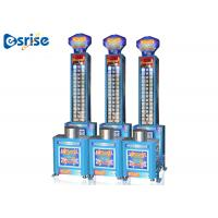 Quality Adjustable Punching Ball Machine , Original Arcade Machines With  Big Electronic Display for sale