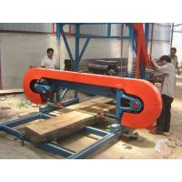Quality Portable Horizontal Band Saw Machine for Wood Cutting (MJ1600/MJ1300/MJ1000) diesel engine powered for sale