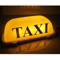 Buy led lighted taxi cab roof top advertising sings and lights at wholesale prices