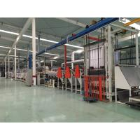 Quality Frequency Control Electrostatic Flocking , Flock Printing Machine 5 - 25m / Min for sale