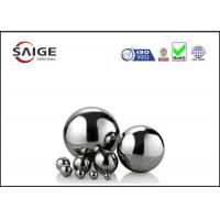 Quality Solid large chrome steel sphere G10 AISI 52100 1/2'' inch diameter for sale