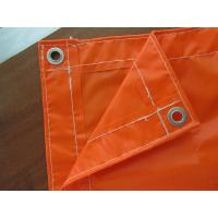 Quality orange pvc tarpaulin 18*12 for sale