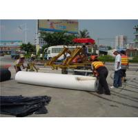 Quality Environment Renewable Pavement Overlay Waterproof Polyester Fabric underlayment for sale