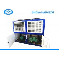 China Industrial Freezer Condenser Unit Anti Corrosion Strong Case Long Work Life on sale