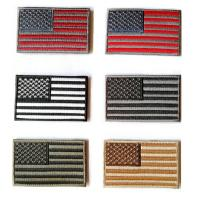 Buy cheap Hot polyester customized colorful Embroidered Tactical USA Flag Patch from wholesalers