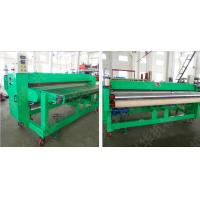 Quality Optional Color Carpet Floor Tiles / Die Cutting Machine ±1.5 Mm Fixed Length for sale