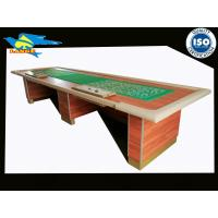 Buy cheap Foldable Large Poker Casino Crap Table Customized 4380×1390×860mm from wholesalers