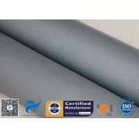 Buy cheap 31OZ 0.85MM Grey Silicone Coated Fiberglass Fabric High Strength Fire Blanket from wholesalers