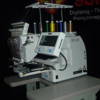 Quality Floss-Planting embroidery machine for sale