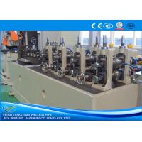 China ERW Pipe Machine Less Waste TIG Welding With PLC Control ISO Certification on sale