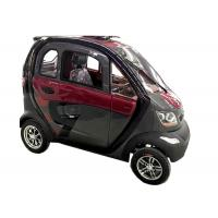 Quality 240Kg Economic Electric Cars , 60V1200W Motor Steering Wheel Automatic Electric Car for sale