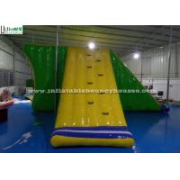 China PVC Tarpaulin Inflatable Water Toys Giant Airtight Action Tower EN71 on sale