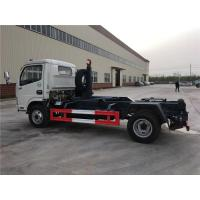 Quality 4 Ton-5 Ton Hooklift Arm Waste Removal Trucks Garbage Container Pulling Dongfeng for sale
