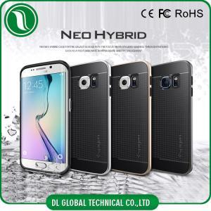 China Black / White / Gold Samsung Galaxy S6 edgeSpigen Neo Hybrid Case on sale