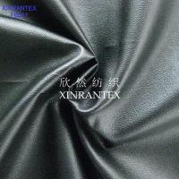 F6051 fake leather fabric 100% polyester micro fibre suede pu lamilation finish for jacket