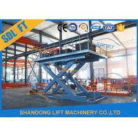 China Hydraulic Scissor Car Lift For Home Garages on sale