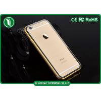 Quality Clear Acylic iPhone 6+ Metal Phone Cases / Iphone 6 Bumper Cover for sale