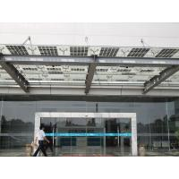 China BIPV Solar Module Customize Doulbe Glasses Solar Sun Shade wholesale