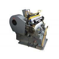Quality Economical Paper Die Cutting Machine , Custom Paper Die Cutter Equipment Energy Saving for sale