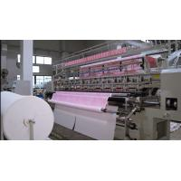 Buy cheap Three Needle bar Quilting Machine 128 Inches For summer quilts from wholesalers