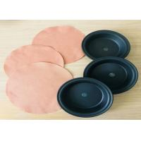 Quality Nylon6 Fabric Reinforced Rubber Diaphragms Wear Resistance OEM Available for sale