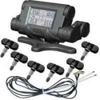 China Wireless Tire Pressure Monitoring System with big LCD Monitor on sale
