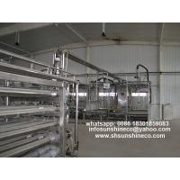 China Tube in tube sterilizer/Tubular Steriziler for Tomato paste, mango puree, chili paste etc. on sale